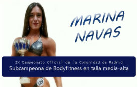 Subcampeona en Bodyfitness: