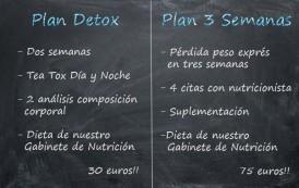 Dietas: Plan Detox y Pérdida de Peso Exprés para comenzar 2016