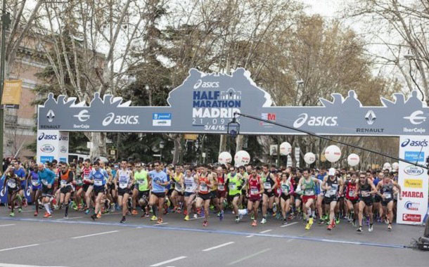 Media maratón de Madrid