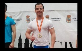 Powerlifting: Alfredo Díaz, 1º en su categoría en el campeonato de España